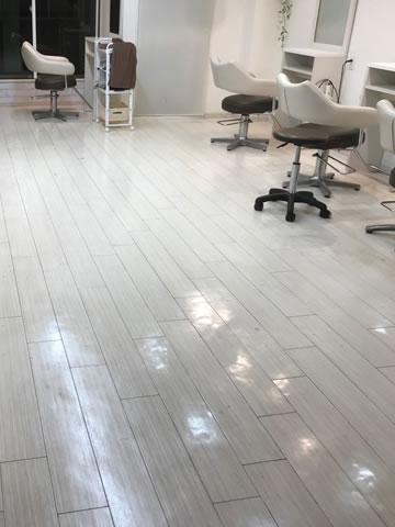 武蔵野市美容室床清掃