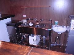 厨房機器のレイアウト変更(日本酒BAR希紡庵・池袋)