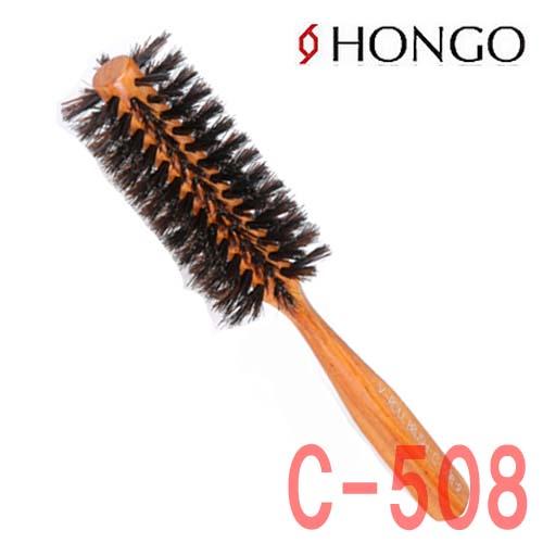 ホンゴ 豚毛&耐熱ナイロン混毛 C-508 ロールブラシ V字植毛 直径44mm 10行 HONGO
