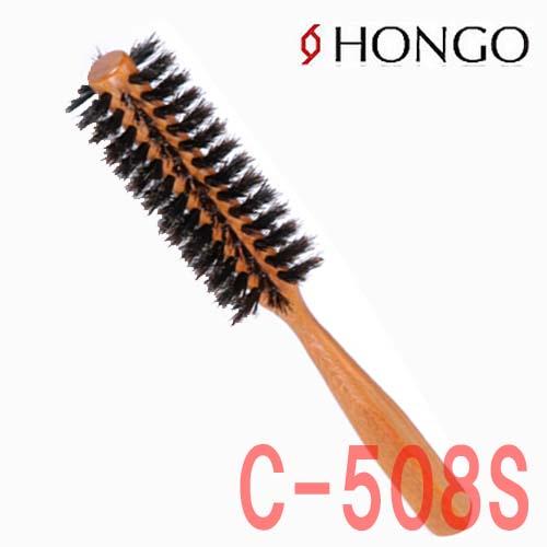 ホンゴ 豚毛&耐熱ナイロン混毛 C-508S ロールブラシ V字植毛 直径38mm 10行 HONGO
