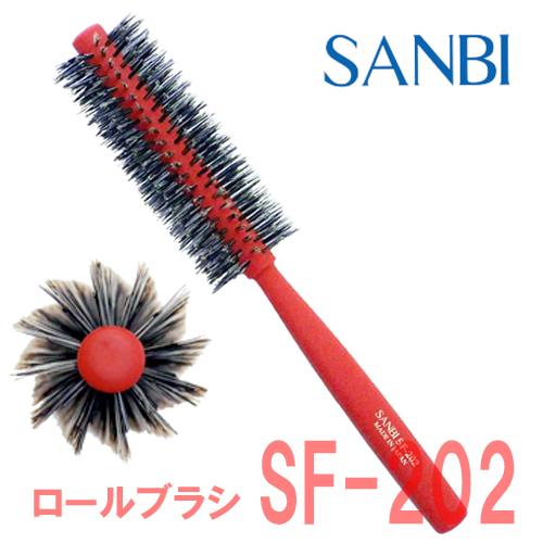 サンビー ロールブラシ SF-202 レッド SANBI
