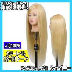 N.B.A.A. アップウィッグII シャイニー NB-WU2S キラキラ輝く髪 アップスタイルの練習、撮影用に NBAA