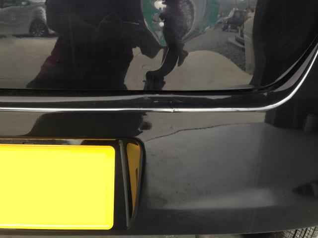 ワゴンR 板金修理 バックドア バンパー