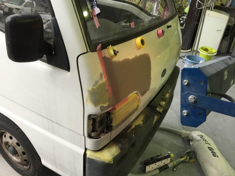 軽トラ 板金修理