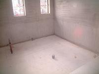 大浴場防水施工前 (新築のデイサービスです。)
