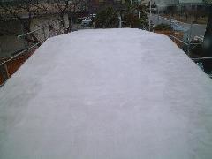 屋外トイレ屋根防水工事(X-2工法) �@