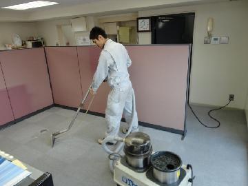 オフィス カーペット洗浄