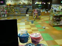 店舗床清掃 東京都北区
