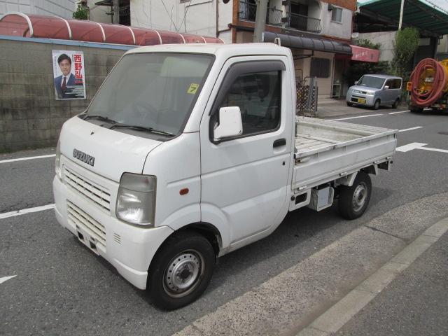 廃車の買取実績(軽トラック 高価買取 和泉市 キャリィトラック 平成15年式 ) 車の廃車は大阪のカーブレイク森井