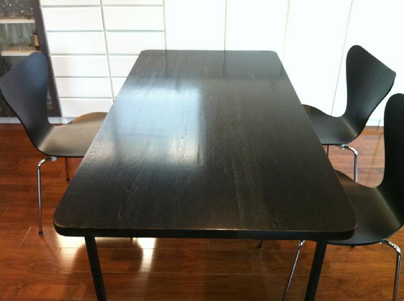 テーブル再塗装後