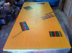 タレントの浅田美代子さんのテーブルを直しました!