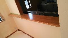 キッチンカウンター再塗装 千葉県浦安市
