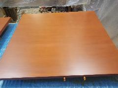北区 テーブル天板再塗装施工