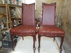 千葉県若葉区 椅子再生施工
