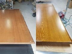 東京都中野区 テーブル天板再塗装施工