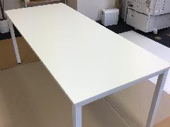東京都中央区 テーブル天板メラタック再生施工