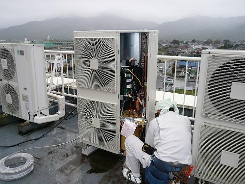 茨城県 ビル 空調工事