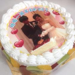 結婚記念日のおいわい