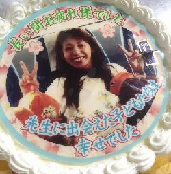 感謝を伝える贈り物ケーキ 7号