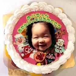 2回同じケーキでお祝いされました!!