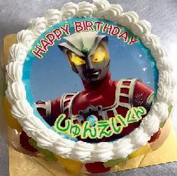 ウルトラマンアトラス!男の子ならではのケーキです☆