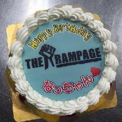 生5号 ロゴもかっこいいケーキになります