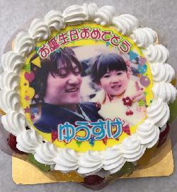 パパのお誕生日に愛娘さんとのショットは最高ですね〜 5号