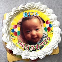100日のお祝い!!成長がたのしみですね☆ 5号