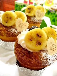 バナナのソフトタルト
