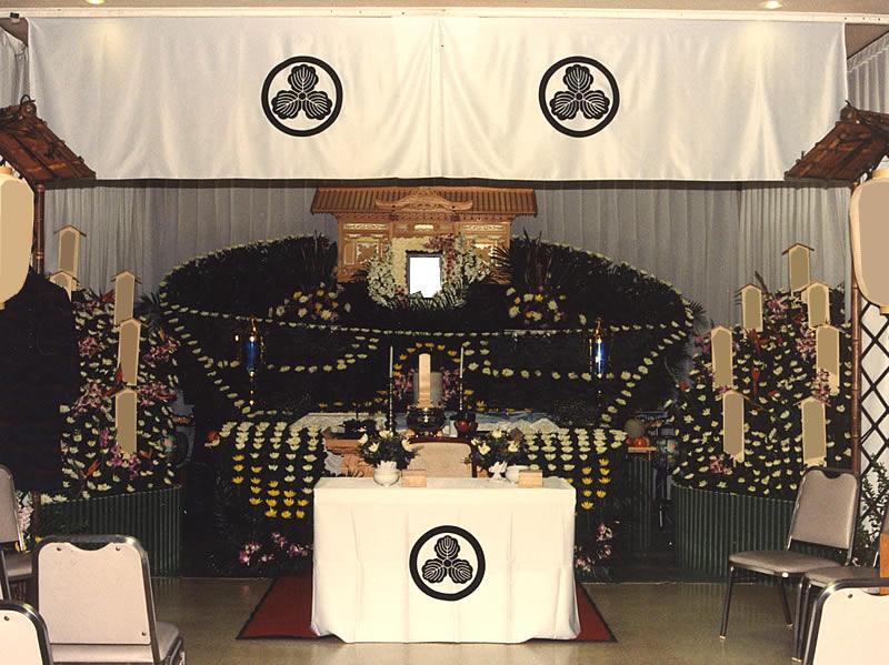 ラーメン一筋のご主人へ ラーメン鉢の花祭壇