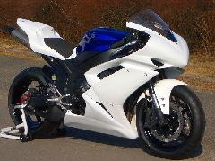 '07〜'08 YZF−R1 フルカウル<UPPER AND LOWER FAIRING>