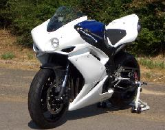 '07〜'08 YZF−R1 耐久フルカウル<ENDURANCE RACE UPPER AND LOWER FAIRING>