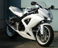'08〜'10 GSX−R600/750 ストリートフルカウル(純正触媒対応)<STREET UPPER AND LOWER FAIRING(normal catalyzer available)>