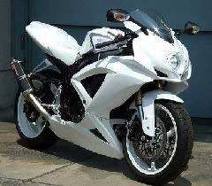 '08〜'10 GSX−R600/750 ストリートフルカウル<STREET UPPER AND LOWER FAIRING>