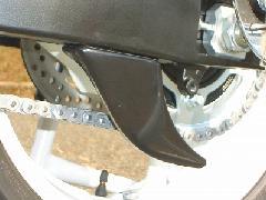 '08〜'10 GSX−R600/750 リアスプロケットガード<REAR SPROCKET GUARD>