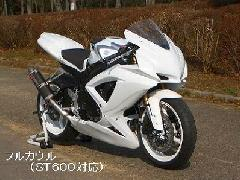'08〜'10 GSX−R600/750 フルカウル<UPPER AND LOWER FAIRING>