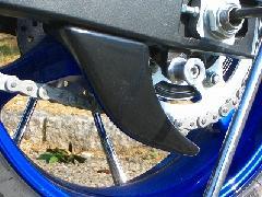 '06〜'07 GSX−R600/750 リアスプロケットガード<REAR SPROCKET GUARD>