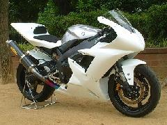 '02〜'03 YZF−R1 フルカウル<UPPER AND LOWER FAIRING>
