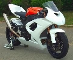 '08〜'10 ZX−10R フルカウル<UPPER AND LOWER FAIRING>