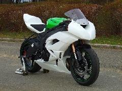 '09〜 ZX−6R フルカウル<UPPER AND LOWER FAIRING>