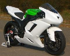'07〜'08 ZX−6R フルカウル<UPPER AND LOWER FAIRING>