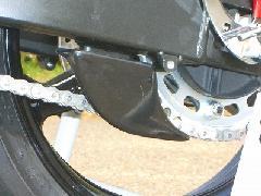 '03〜 CBR600RR リアスプロケットガード<REAR SPROCKET GUARD>