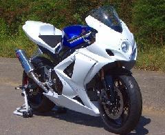 '07〜'08 GSX−R1000 耐久フルカウル<ENDURANCE RACE UPPER AND LOWER FAIRING>