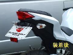 '13〜'17 Ninja 250 フェンダーレスキット<FENDERLESS KIT>