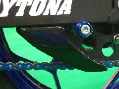 '13〜 Ninja 250/Z250 リアスプロケットガード<REAR SPROCKET GUARD>