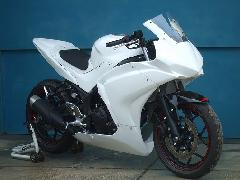 '14〜 YZF-R25 フルカウル<UPPER AND LOWER FAIRING>