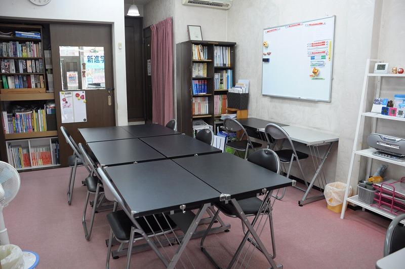 新進学習教室内