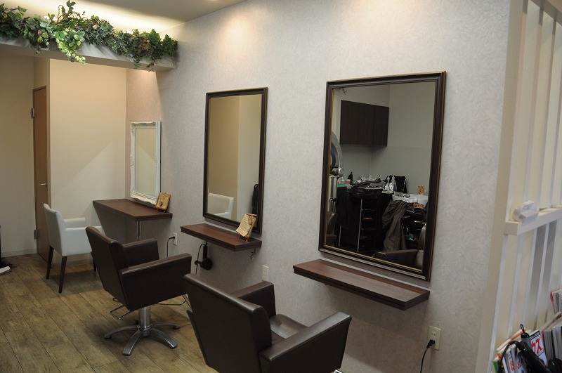 hair stage new店舗内