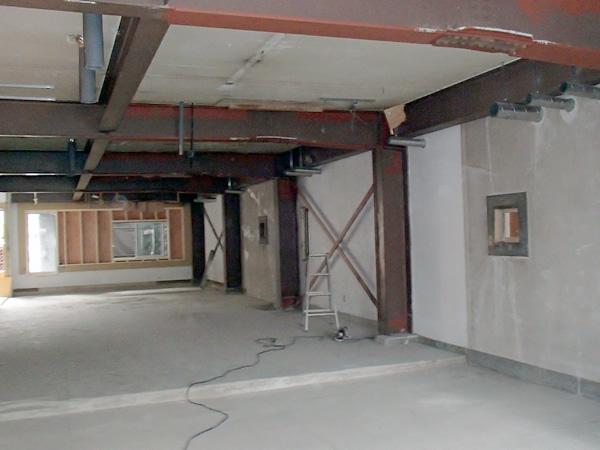 ビル事務所耐震診断及び補強工事