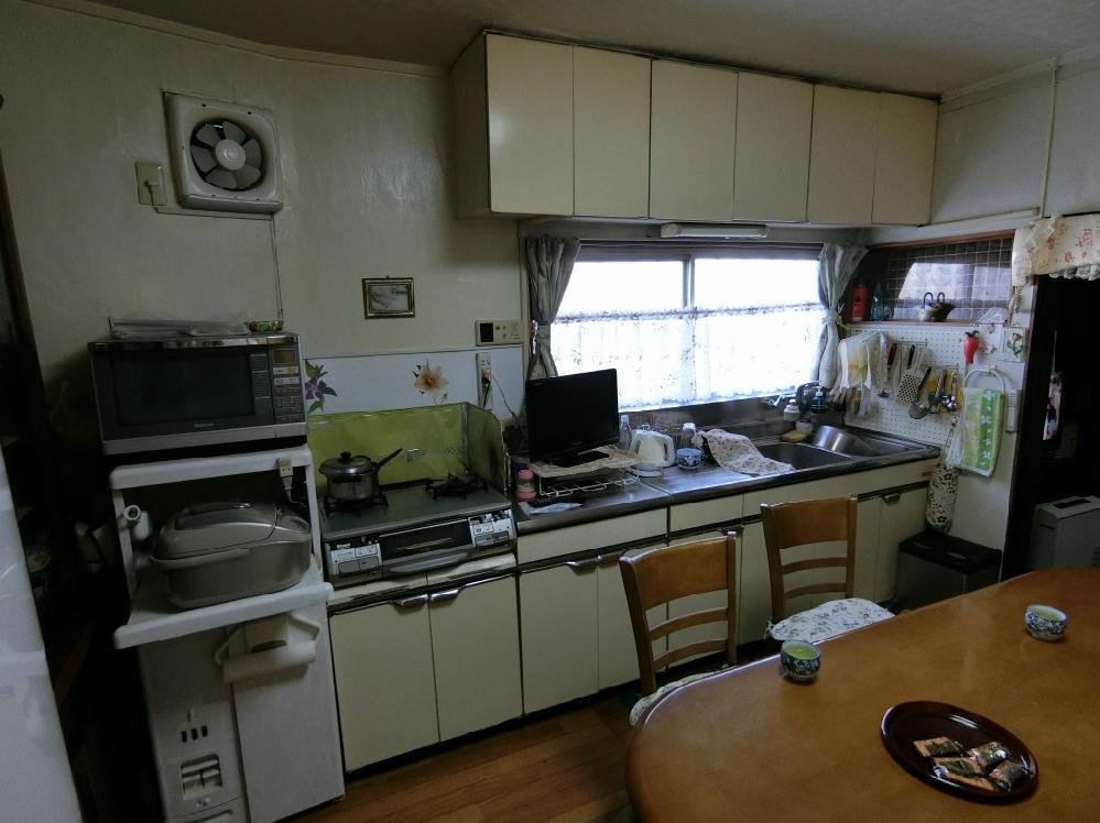 改装前の台所